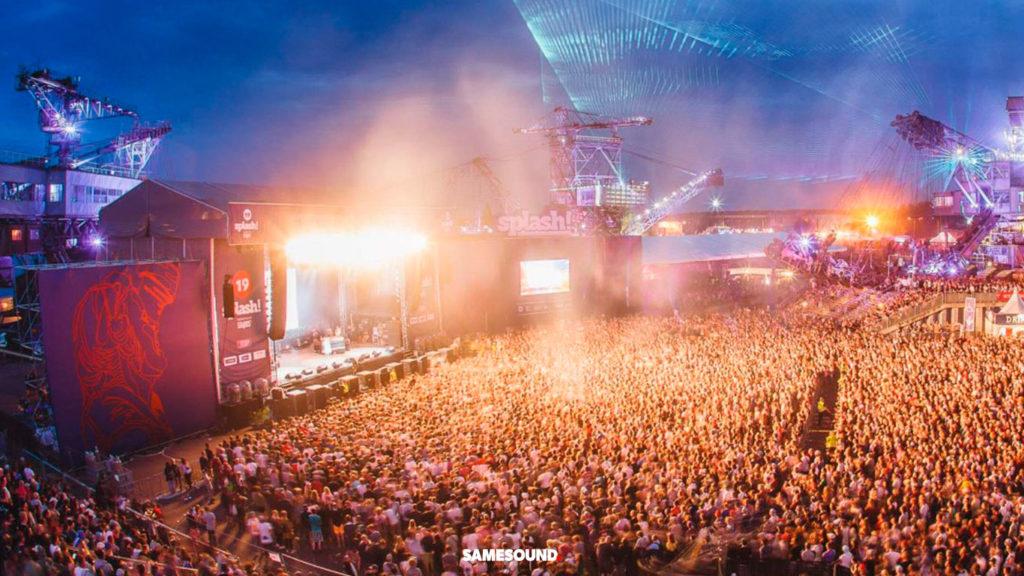 Splash!, музыкальные фестивали Германии