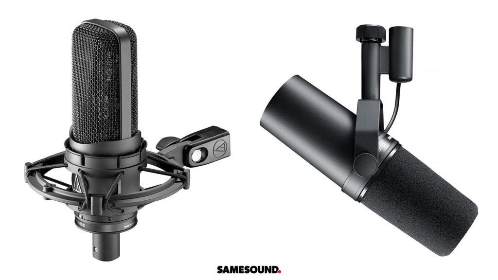 Популярные микрофоны для записи вокала