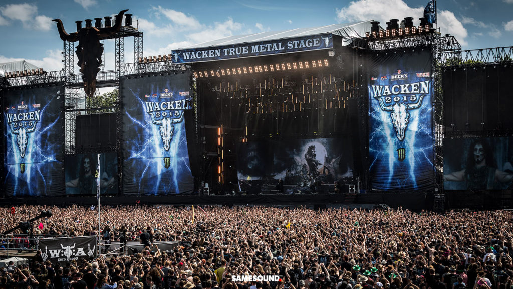 Wacken Open Air, музыкальные фестивали Германии