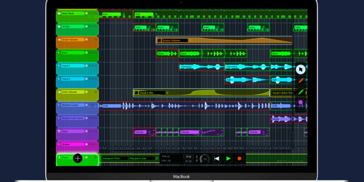 zenAud.io ALK2 Solo, программа для лайв-лупинга