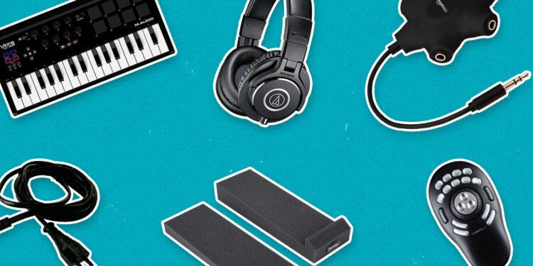 аксессуары для студии звукозаписи