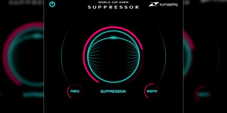 Плагин Zynaptiq World Cup Horn Suppressor