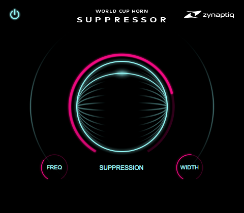 Плагин Zynaptiq World Cup Horn Suppressor