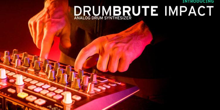 Драм-машина Arturia DrumBrute Impact