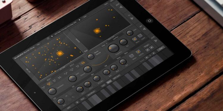 Audiokit Synth One, бесплатный синтезатор для iPad