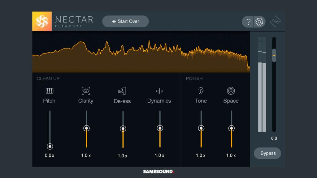 VST-плагин для обработки вокала iZotope Nectar Elements