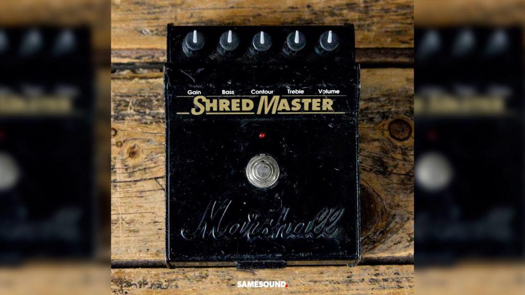 Педаль дисторшн Marshall ShredMaster