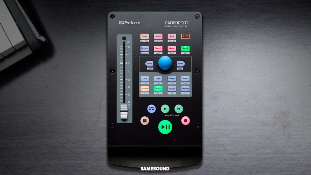DAW контроллер PreSonus FaderPort