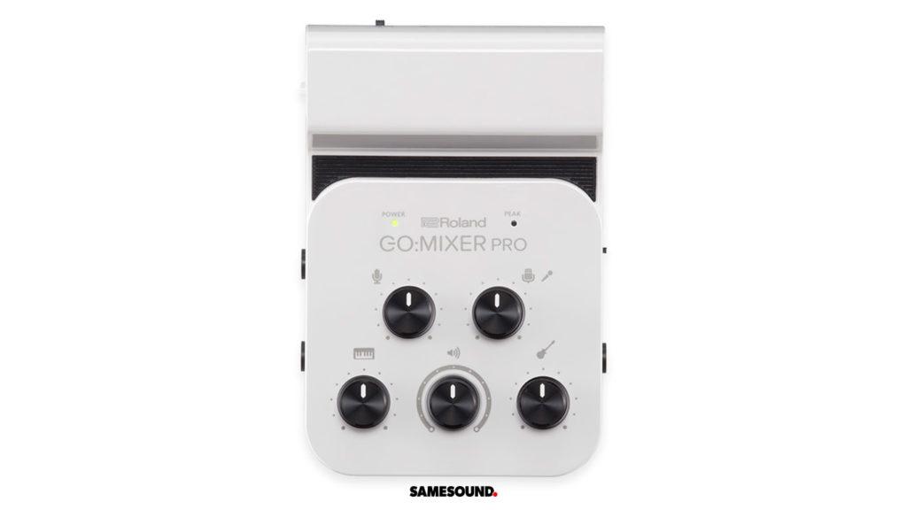 Компактный микшер Roland GO:MIXER PRO для смартфонов