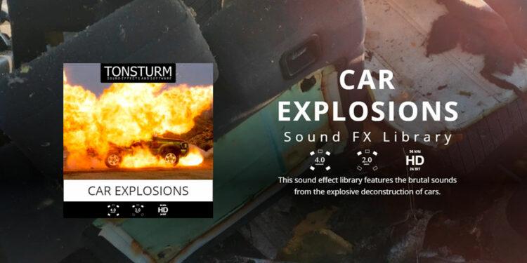 Звуки взрывов Tonstrum Car Explosions
