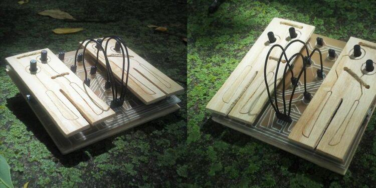 Синтезатор из деревянных паллет Ellitone Multi-Synth