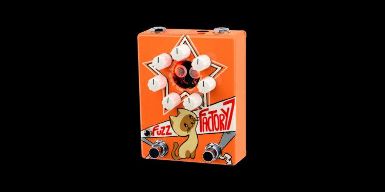 Z.Vex Fuzz Factory 7, педаль с котенком по имени гав, педаль фузза котенок по имени гав