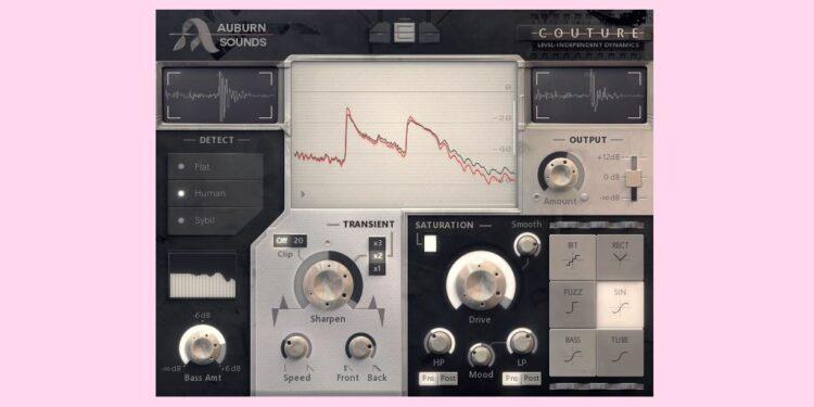 Бесплатный плагин transient control Auburn Sounds Couture