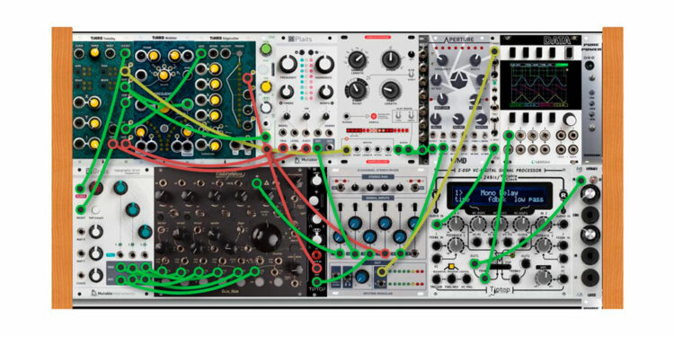 Модульный синтезатор для детей