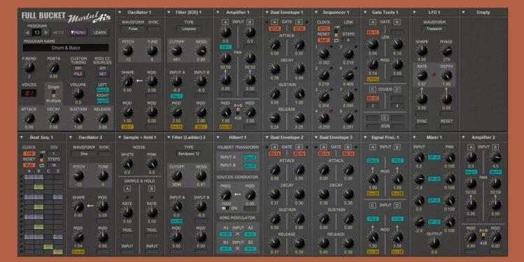 Бесплатный VST-синтезатор FBM ModulAir