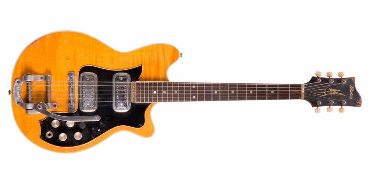 Гитару Джорджа Харрисона продадут на аукционе, Maton Mastersound MS-500