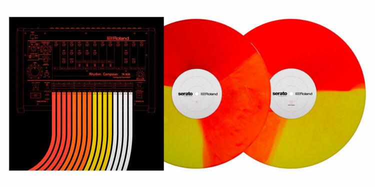 лимитированный набор винила для контроллеров Roland DJ-808