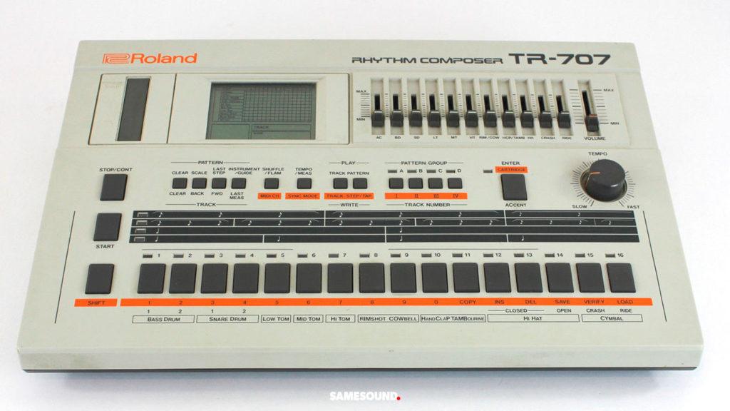 винтажные драм-машины Roland, Roland TR-707