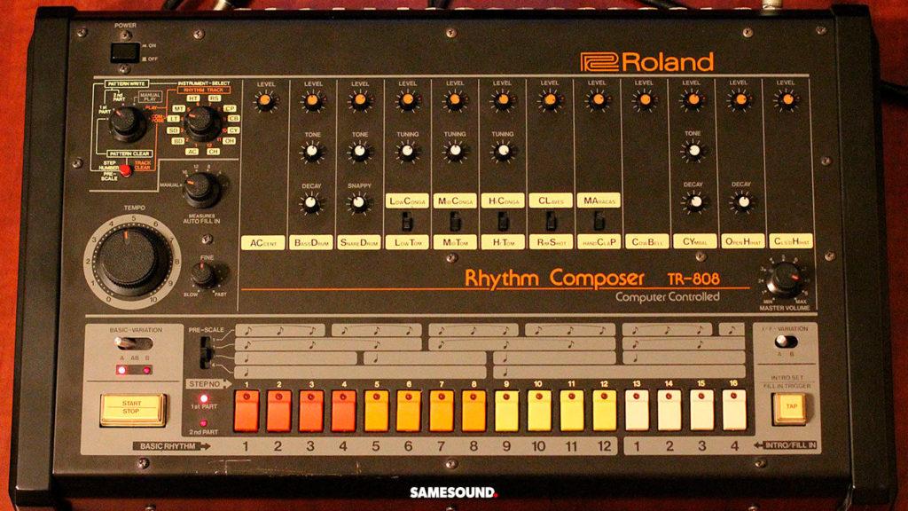 винтажные драм-машины Roland, Roland TR-808