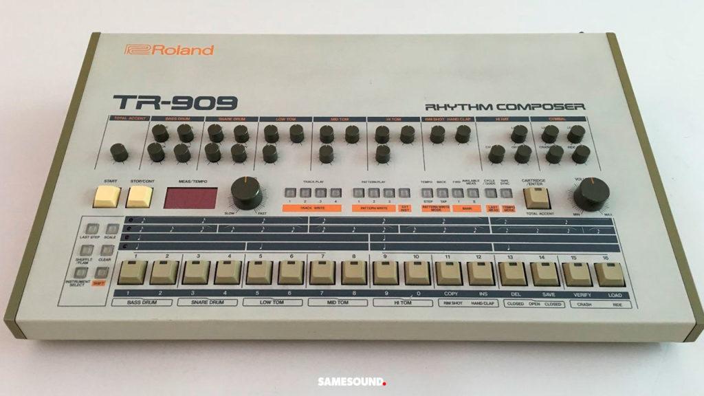 винтажные драм-машины Roland, Roland TR-909