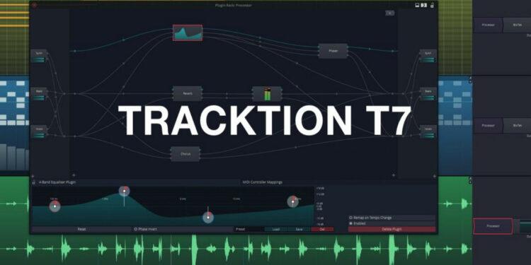 Бесплатная DAW Tracktion T7, Tracktion T7 бесплатно