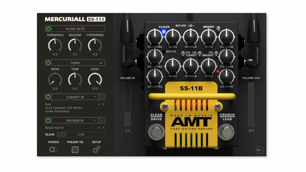 VST-плагин Mercuriall Audio SS-11X