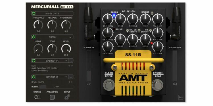VST-плагин Mercuriall Audio SS-11X