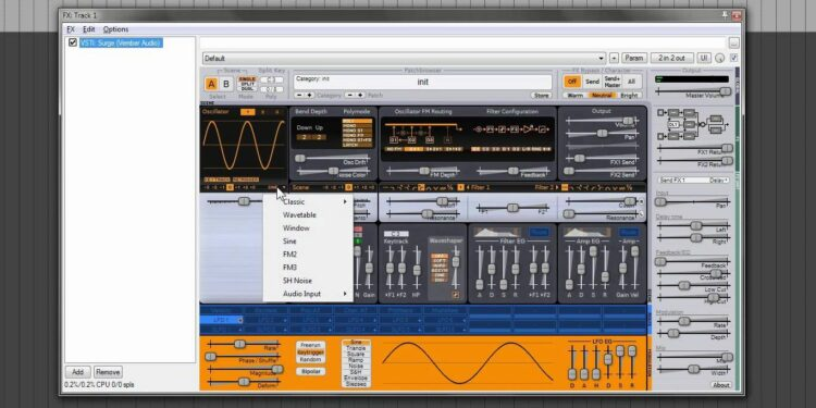 синтезатор vember audio surge скачать бесплатно