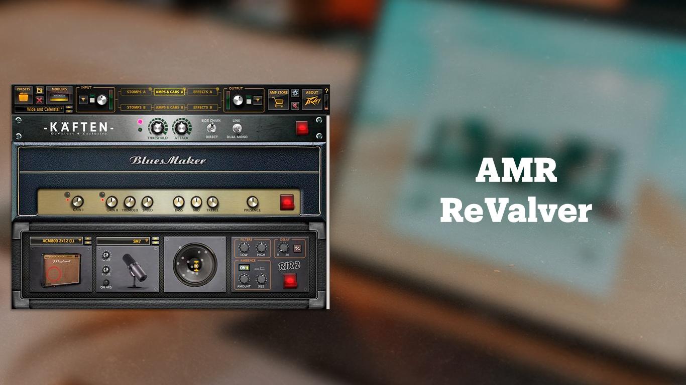 Бесплатный плагин для обработки гитары AMR ReValver