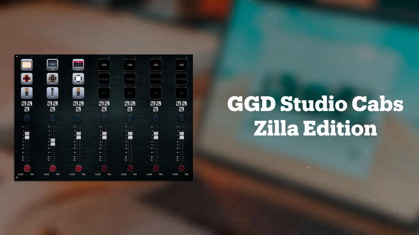 Гитарный эмулятор GGD Studio Cabs Zilla Edition