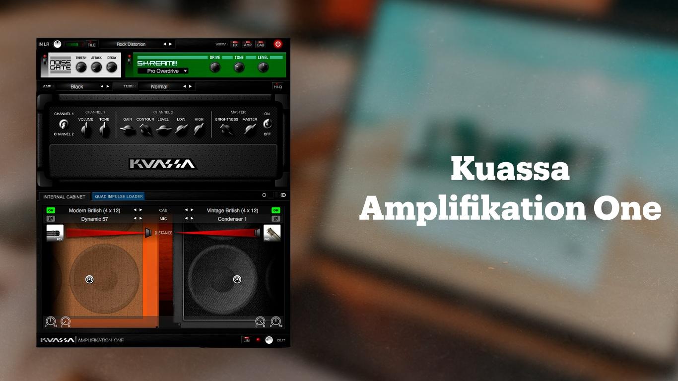 Плагин обработки гитары Kuassa Amplifikation One