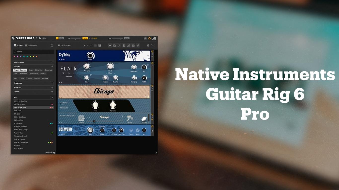 Гитарный эмулятор Native Instruments Guitar Rig 6 Pro
