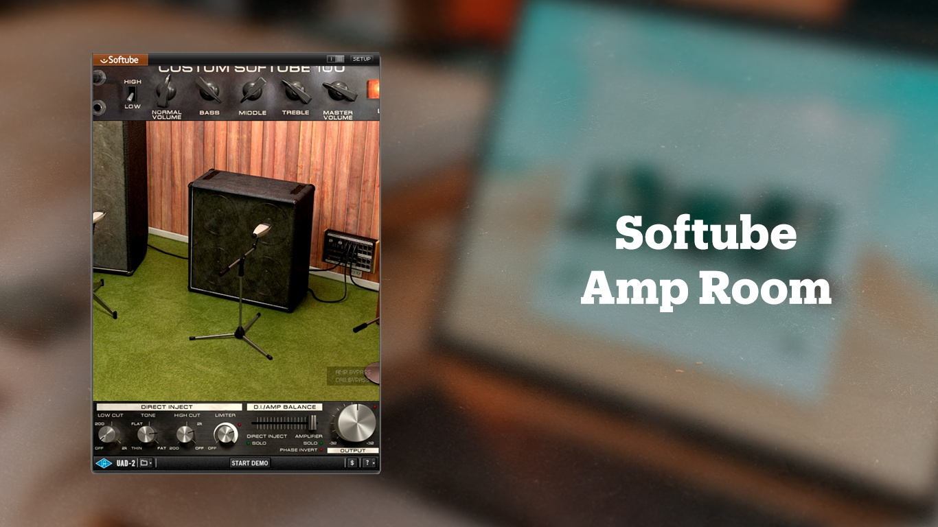 Гитарный эмулятор Softube Amp Room