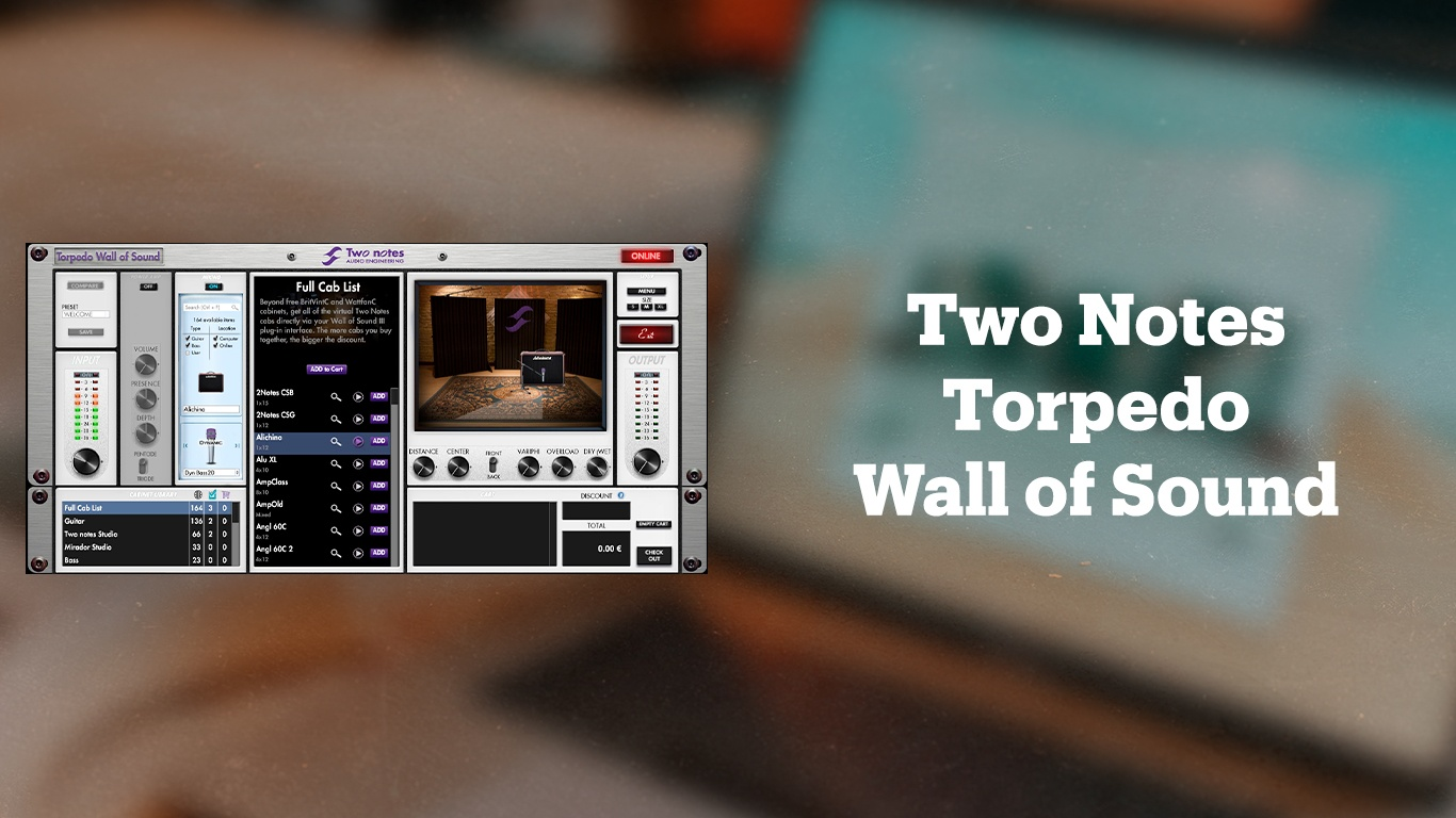 VST-плагин для обработки гитары Two Notes Audio Engineering Torpedo Wall of Sound