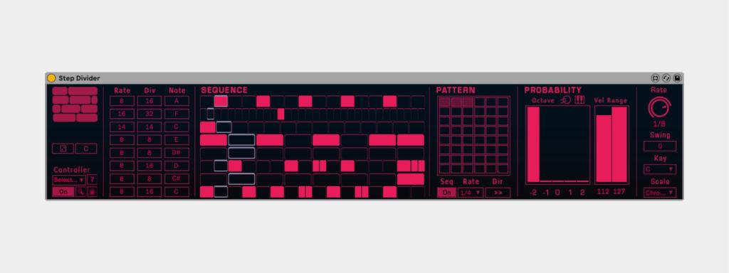 Ableton Live Probability Pack, бесплатные степ-секвенсоры Ableton Live