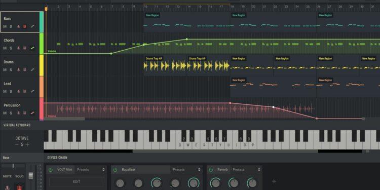 Браузерная DAW Amped Studio 2.0