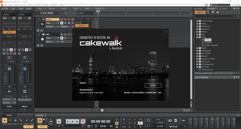 Cakewalk by BandLab что нового, что нового в Cakewalk by BandLab, как изменился SONAR