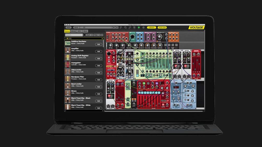 Виртуальный модульный синтезатор Cherry Audio Voltage Modular