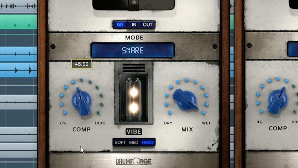 VST-компрессор Drumforge DF-Comp