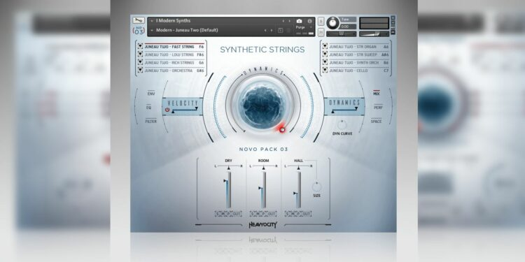Виртуальная библиотека синтезированных струнных Heavyocity Synthetic Strings