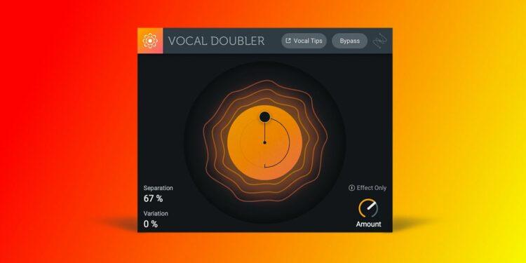 VST-плагин iZotope Vocal Doubler скачать бесплатно