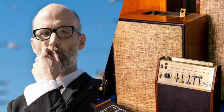 Moby продает драм-машины, коллекция драм-машин Моби