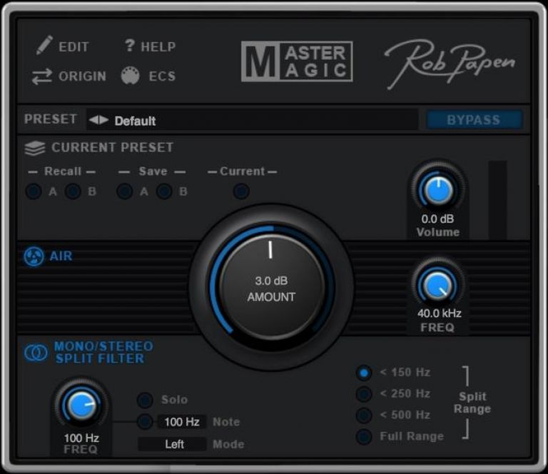 VST-плагин Rob Papen MasterMagic