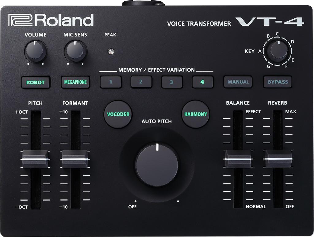 Вокальный процессор Roland VT-4 Vocal Transformer