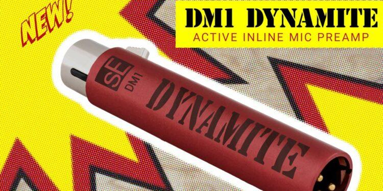 Микрофонный предусилитель sE Electronics DM1 Dynamite