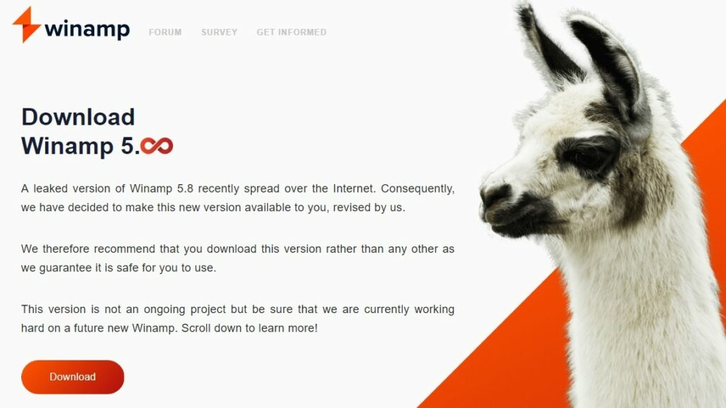 Вышел Winamp 5.8