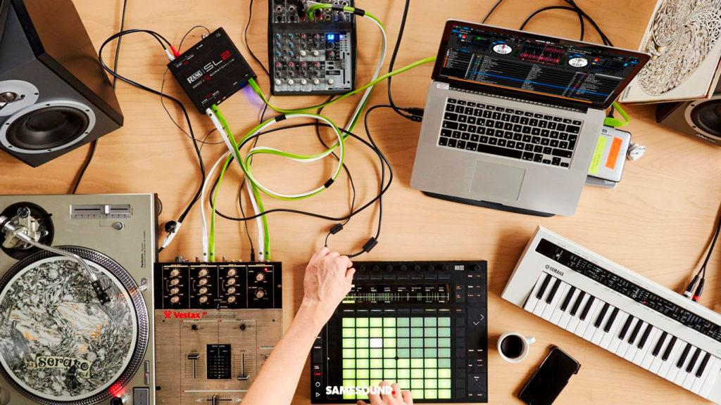 приложения для совместной работы над музыкой, ableton link