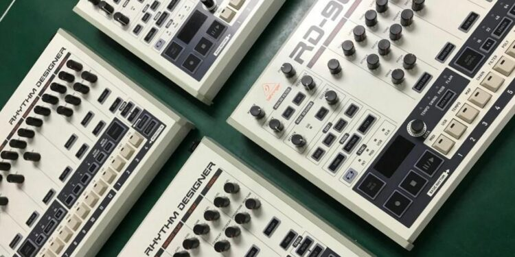 behringer rd-909 цена, драм-машина behringer rd-909, клон roland tr-909 от behringer