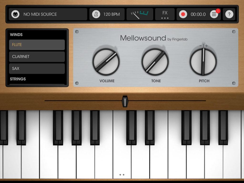 меллотрон для ios fingerlab mellowsound