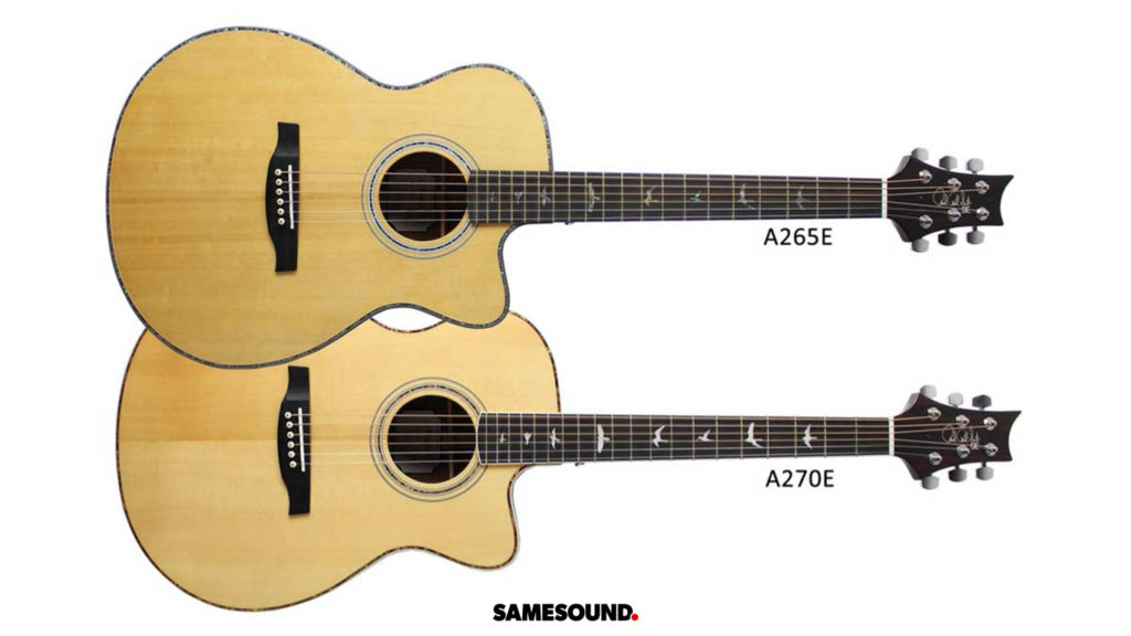гитарные новинки, PRS A265, PRS A270